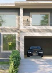 Casa de condomínio para venda possui 240 metros quadrados com 4 quartos