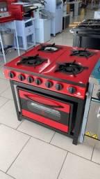 Título do anúncio: Fogão 4 bocas com forno gourmet NOVO