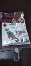Macacão cirúrgico para gatos/gatas