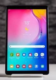 "Título do anúncio: Galaxy Tab A 10.1"" 32GB Octa Core, 4G + Wi-Fi, GPS, Bluetooth, Novíss, Caixa, Nota, Gar"