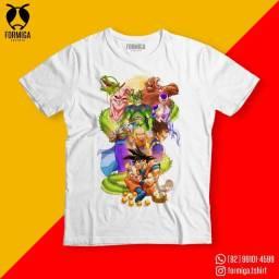 Camisa Dragon Ball Anime Geek