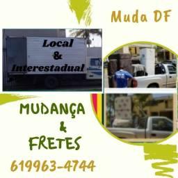 Título do anúncio: Frete Jardim Botânico* Mangueiral * Lago Norte * Vila Planalto * Vila Telebrasília