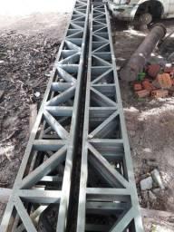 Estrutura Metálica - Coluna de Ferro