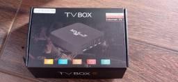 Título do anúncio: Tv Box 4K - Transforme sua tv em uma Smart Tv