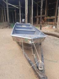 Título do anúncio: Vendo barco 5 metros