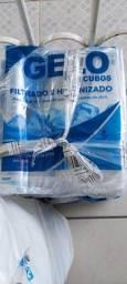 Título do anúncio: Embalagem pra gelo de 2 kg.