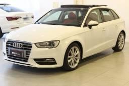 Título do anúncio: Audi A3 1.8 TSFi Sportback Automático + Teto Solar + Bancos em couro