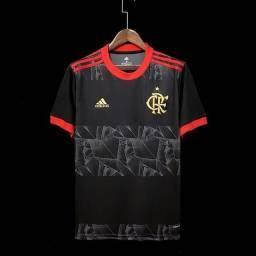Título do anúncio: Camisa do Flamengo Preta  2021