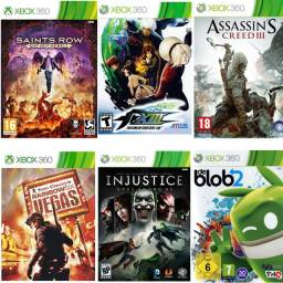 Título do anúncio: Combo 6 jogos xbox 360 midia digital
