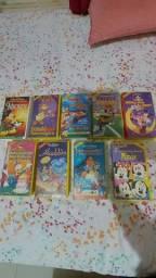 Título do anúncio: Lote 18 Fitas Originais Disney VHS Colecionadores