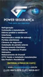 Título do anúncio: Refrigeração CFTV elétrica energia solar drywall