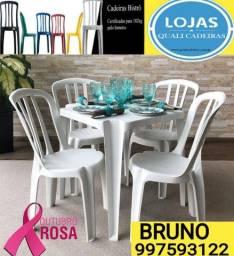 Título do anúncio: Cadeira plástica invista em cadeiras de Qualidade