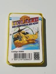 Card Super Trunfo Coleção Antigo Grow Helicópteros em Ação 00860 Original