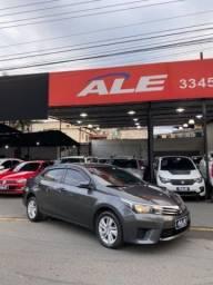 Título do anúncio: Toyota Corolla 2017 GLI 1.8 AUT. C/GNV