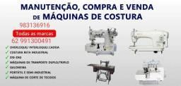 Título do anúncio: Mecânicos de MÁQUINAS de COSTURA assistência técnica autorizada