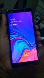 Samsung A7 +carregador +fone novos na caixa