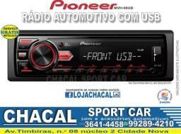 Título do anúncio: Pioneer Mvh-98Ub (novo, com nota fiscal e serviço grátis de instalação)