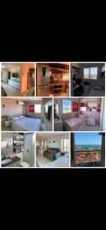 Vendo apartamento 70m frente mar 3 quartos 100% projetado