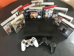 Título do anúncio: PS3 SUPER SLIM 250 GB