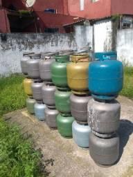 Vasilhame vasio de gás de cosinha São Vicente SP
