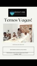 Título do anúncio: Aux de cozinha e Aux de serv gerais