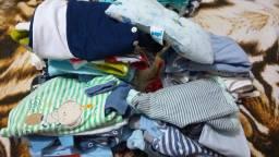 Lote de roupas de bebê menino leia a descrição
