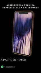 Iphone tela quebrada