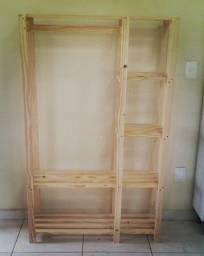 Título do anúncio: Ropeiro em madeira maciça de pinus