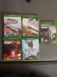 Jogos de Xbox one originais.