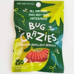 Pulseira repelente contra insetos importada USA