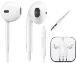 Fone De Ouvido Celular p2  4 5 6 6s E  2 3 4 Fone P2 Branco Resistente  microfone