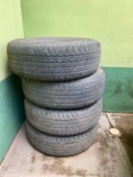 4 pneus yokohama para caminhonete