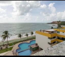 Vendo flat Frente mar em Tabatinga mobiliado R$249.900
