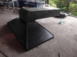 Coifa de ferro com duto