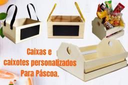 Caixas e caixotes para sua cesta de páscoa