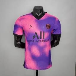 Camisa de time psg rosa