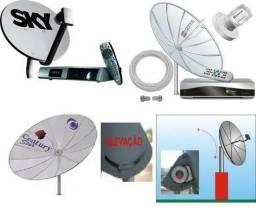 Título do anúncio: Tecnico em instalação de antenas via satelites e parabolica