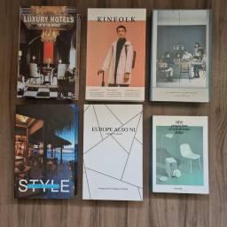 Kit de Livros Fake para Decoração