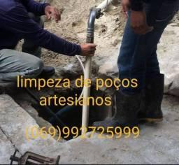 Título do anúncio: Limpeza de poço artesiano *