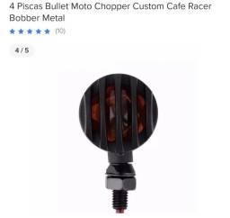 2 setas café racer scrambler moto customizadas