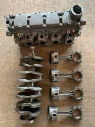 Título do anúncio: Motor parcial volkswagen 1.6 2013/2014 cabeçote, virabrequim pistões