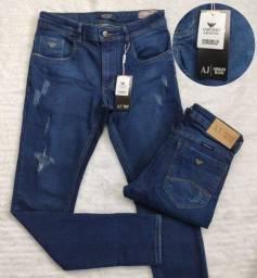 Título do anúncio: Calça Jeans Masculina Empório Armani - Denim culture