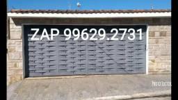 Portão Balaio ou Almofadado Novo sob medida