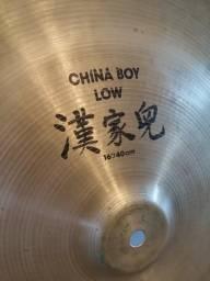 """Zildjian China Boy Low 16"""" RARO"""