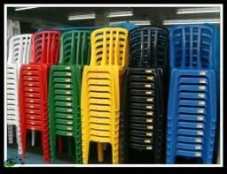 Cadeira de plastico