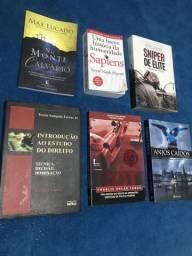 Livros 7$ cada