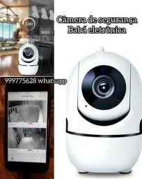 Câmera de segurança residencial e babá eletrônica