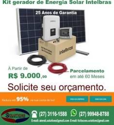 Kit Gerador de Energia Solar
