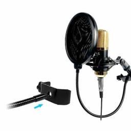 Pop filter G para microfones profissionais