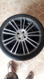 Rodas 18 215/35 com pneus 100%